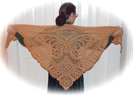 Viceroy Butterfly Shawl