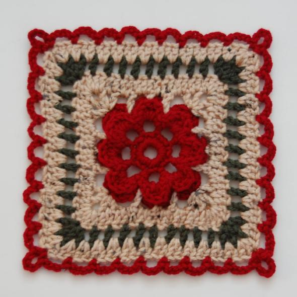 Chain Reaction Crochet Afghan Project from Crochet Me